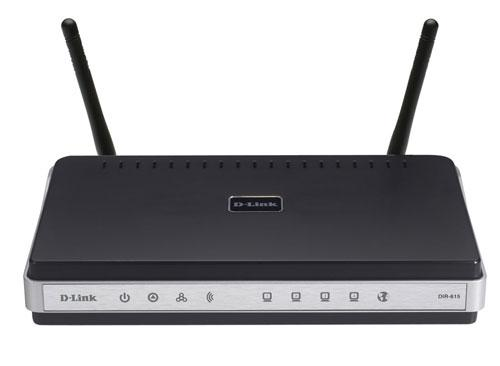 ROUTER Wireless N DLINK DIR-615 WIFI 300MBPS 2 ANTENAS