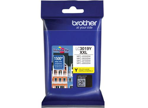 CARTUCHO DE TINTA BROTHER LC3019Y  Compat. MFCJ5330DW / MFCJ6730DW YELLOW, 1,500 paginas