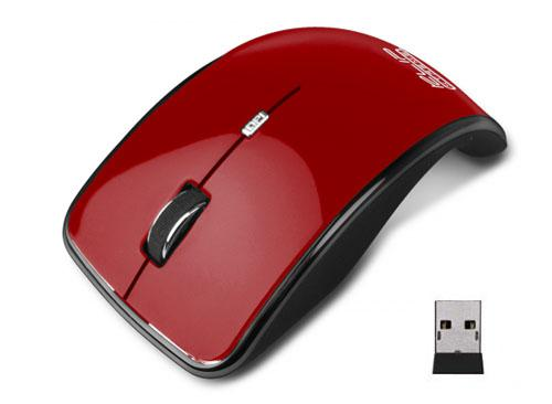 MOUSE USB KLIP XTREME WIRELESS KMO-375RD ROJO