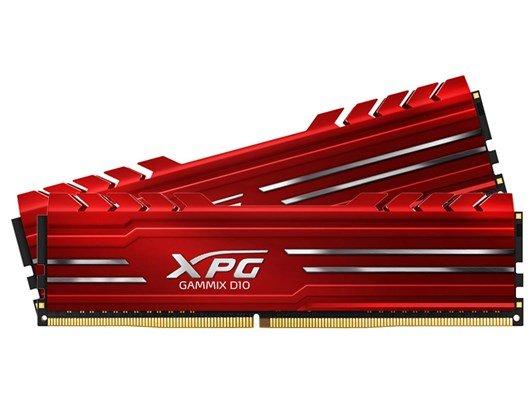 MEMORIA DDR4    4GB/2400   A-DATA,  AX4U2400W4G16-SRG  c/DISIPADOR de CALOR XPG Rojo