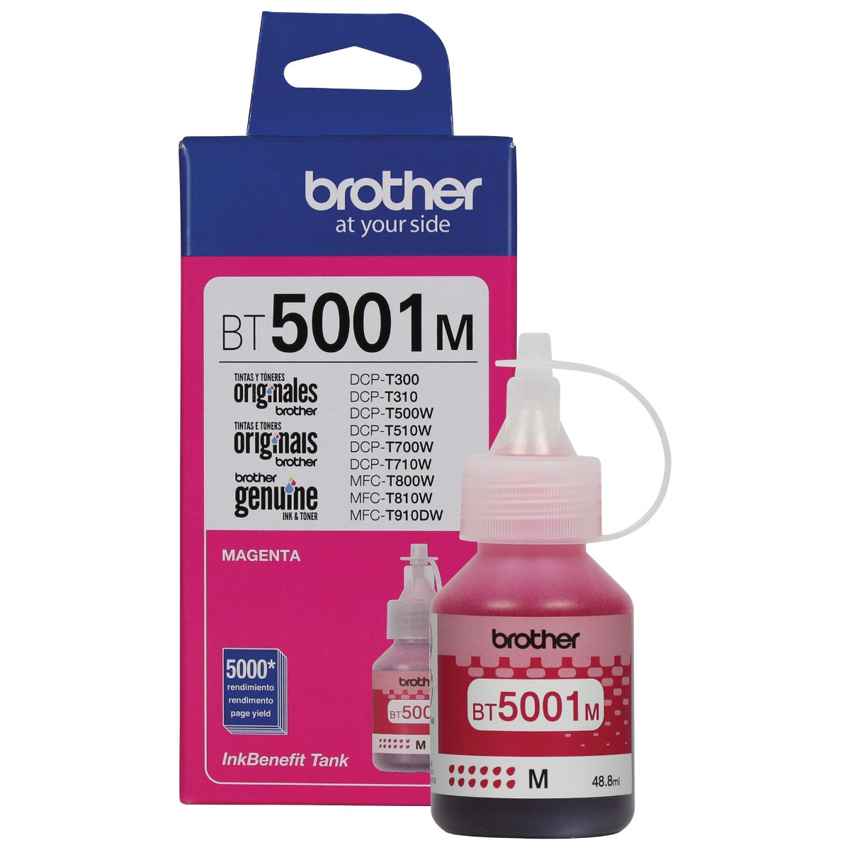 TINTA BROTHER MAGENTA BT-5001M