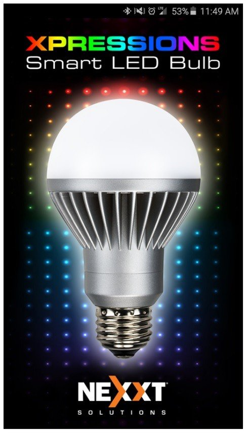 BOMBILLA LED POLICROMATICA, NEXXT, ALABUBL4N0, 16millones de colores