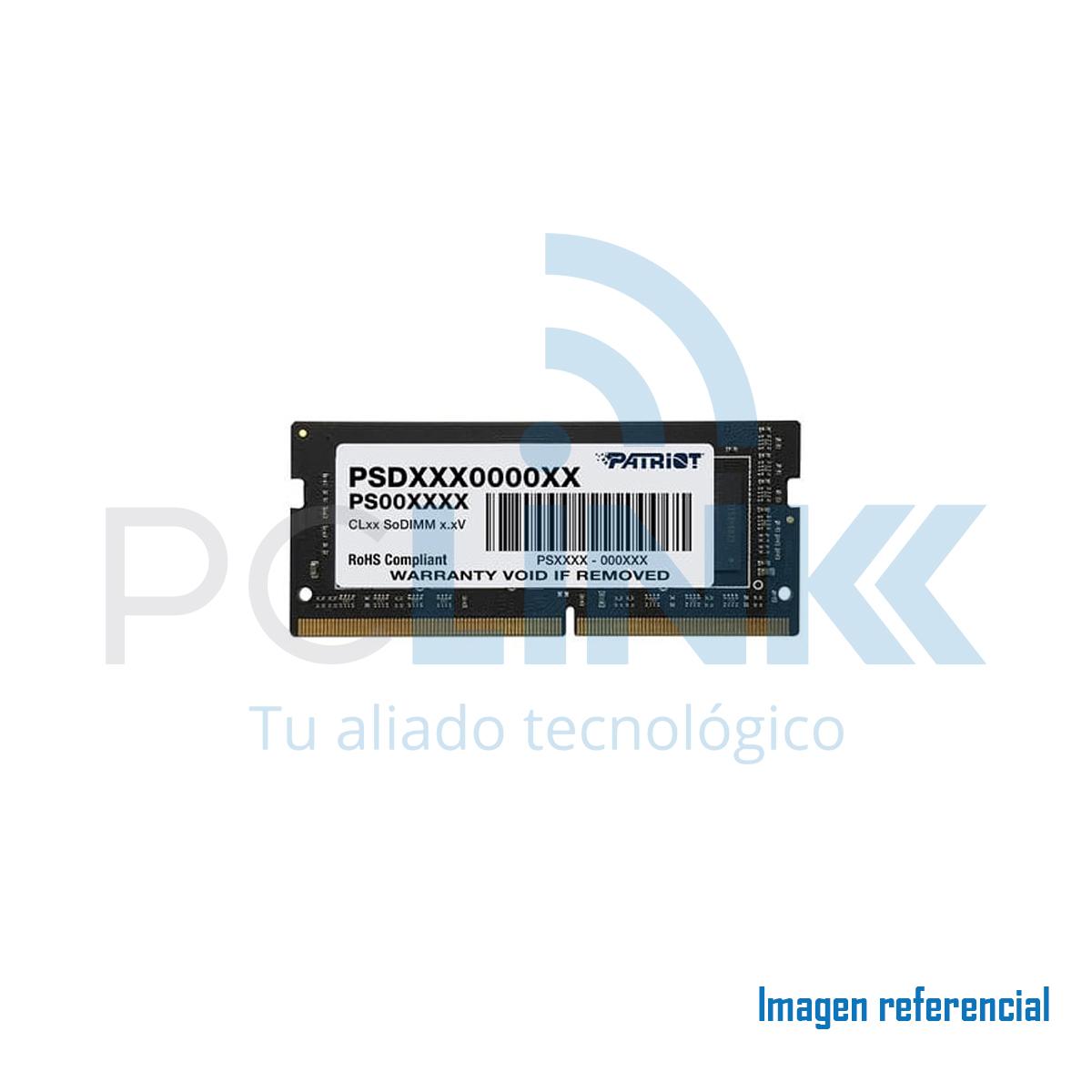 MEMORIA P/NOTEBOOK DDR4 4GB/26